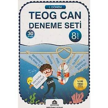 8. Sýnýf TEOG Can Deneme Seti 30 Deneme