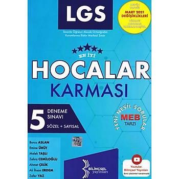 Bilinçsel 8.Sýnýf LGS Hocalar Karmasý 5 Li Deneme Sýnavý