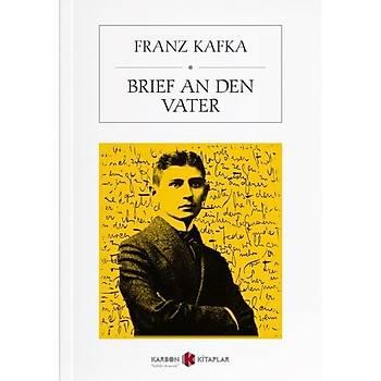 Brief An Den Vater - Franz Kafka - Karbon Kitaplar