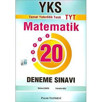 TYT Matematik 20 Deneme Sýnavý Palme Yayýncýlýk