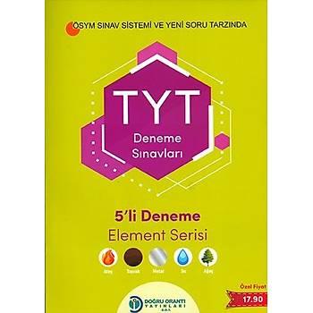 Doðru Orantý TYT 5li Deneme Sýnavý Element Serisi