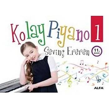 Kolay Piyano 1 - Sevinç Ereren - Alfa Yayýnlarý
