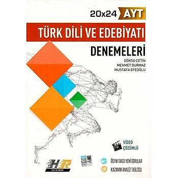 AYT Türk Dili ve Edebiyatý 20x24 Denemeleri Video Çözümlü Hýz ve Renk Yayýnlarý