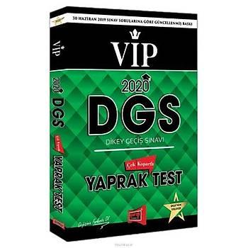 Yargý 2020 DGS VIP Çek Kopartlý Yaprak Test
