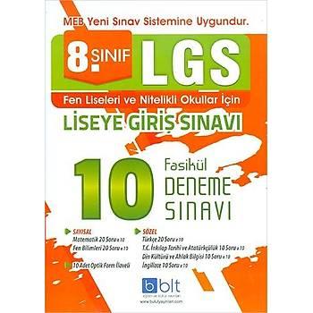 Bulut 8.Sýnýf LGS 10 Fasikül Deneme Sýnavý