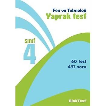 4. Sýnýf Fen ve Teknoloji Yaprak Test