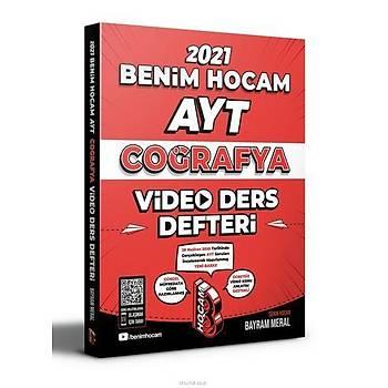 Benim Hocam 2021 AYT Coğrafya Video Ders Defteri