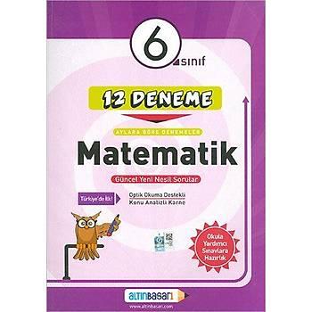 Altýnbaþarý 6.Sýnýf Matematik 12 Deneme