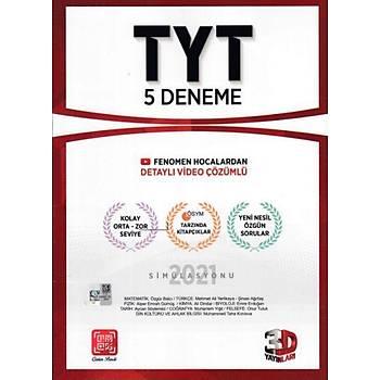 Çözüm TYT 3D Tamamý Video Çözümlü 5 Deneme