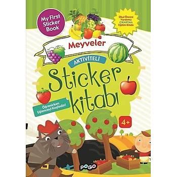 Aktiviteli Sticker Kitabý - Meyveler - Kolektif - Pogo Çocuk