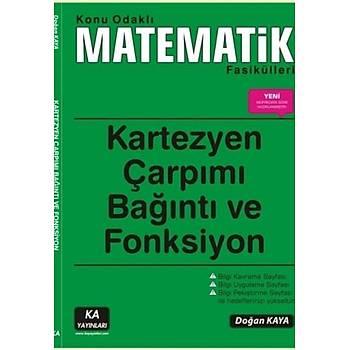 Konu Odaklý Matematik Fasikülleri Kartezyen Çarpýmý Baðýntý ve Fonksiyon