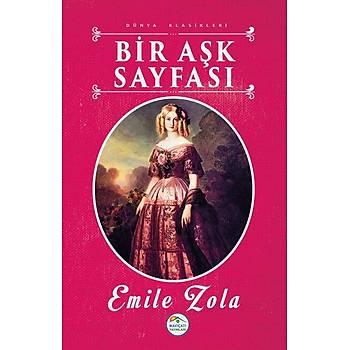 Bir Aþk Sayfasý - Emile Zola (Dünya Klasikleri) Maviçatý Yayýnlarý