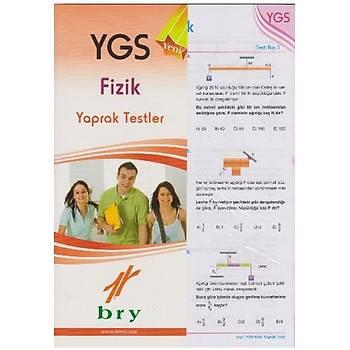 Fizik Yaprak Testler YGS Birey Yayýnlarý