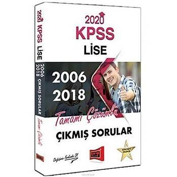 Yargý 2020 KPSS Lise Çözümlü Çýkmýþ Sorular Kitabý