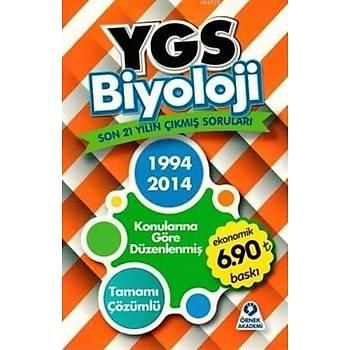 YGS Biyoloji 21 Yýlýn Çýkmýþ Sorularý; Tamamý Çözümlü
