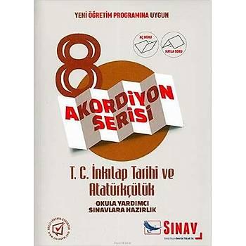 Sýnav 8.Sýnýf T.C. Ýnkýlap Tarihi ve Atatürkçülük Akordiyon Kitap