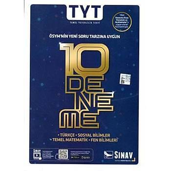 TYT 10 Deneme Sýnav Dergisi Yayýnlarý