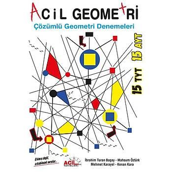 TYT AYT Acil Geometri Denemeleri Çözümlü Acil Yayýnlarý