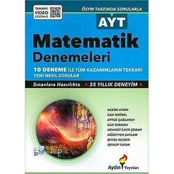 Aydýn AYT Matematik 10'lu Deneme