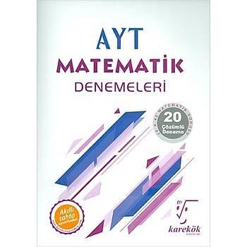 AYT Matematik Denemeleri Karekök Yayýnlarý