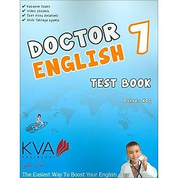 Koray Varol 7.Sýnýf Doctor English Test Book
