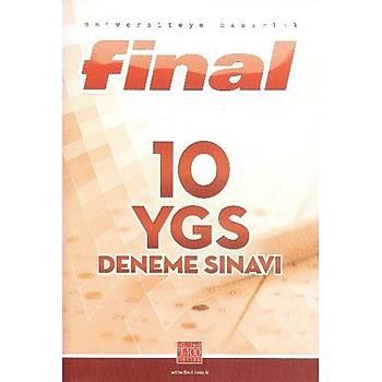 Final 10 YGS Deneme Sýnavý 2016
