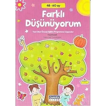 Farklý Düþünüyorum 48 60 Ay - Mehmet Türkdoðan - Çamlýca Çocuk Yayýnlarý