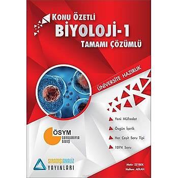 Sýradýþýanaliz TYT Biyoloji-1 Konu Özetli Tamamý Çözümlü