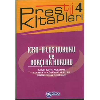 Ýcra - Ýflas Hukuku ve Borçlar Hukuku - Prestij Kitaplarý 4