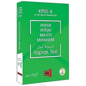 Yargý KPSS A Grubu Hukuk-Ýktisat-Maliye-Muhasebe Çek Koparlý Yaprak Test