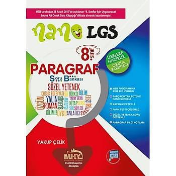 8. Sınıf LGS Nano Paragraf Soru Bankası Mikro Hücre Yayınları