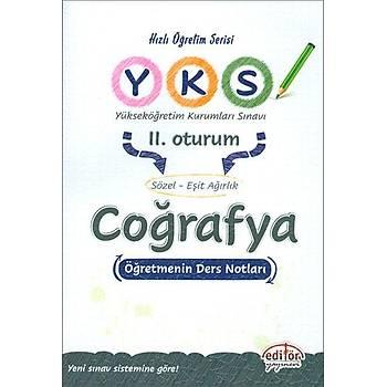 AYT 2.Oturum Coðrafya Öðretmenin Ders Notlarý