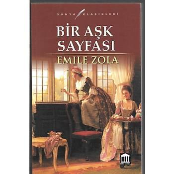 Bir Aþk Sayfasý - Emile Zola - Olympia Yayýnlarý