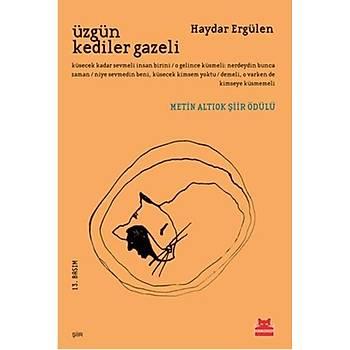 Üzgün Kediler Gazeli - Haydar Ergülen - Kýrmýzý Kedi