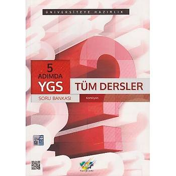 FDD YGS 5 Adýmda Tüm Dersler Soru Bankasý