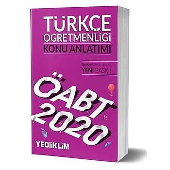 YEDÝÝKLÝM YAYINLARI 2020 KPSS ÖABT TÜRKÇE ÖÐRETMENLÝÐÝ KONU ANLATIMI