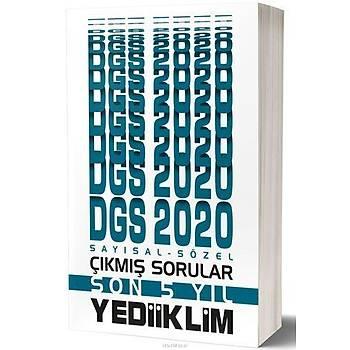 Yediiklim 2020 DGS Sayýsal Sözel Son 5 Yýl Çýkmýþ Sorular