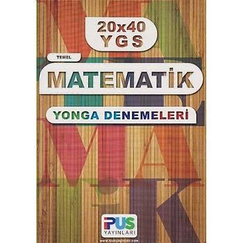 YGS Temel Matematik 20x40 Yonga Denemeleri