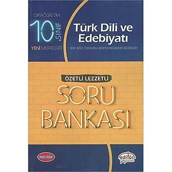 Editör 10.Sýnýf Türk Dili ve Edebiyatý Özetli Soru Bankasý
