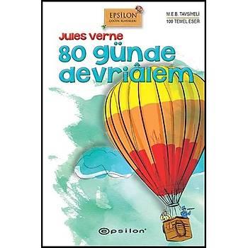 80 Günde Devrialem - Jules Verne - Epsilon Yayýnevi