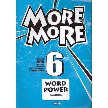New More More 6 Word Power