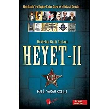 Devletin Gizli Sýrlarý Heyet - 2 - Halil Yaþar Kollu - Lopus Yayýnlarý