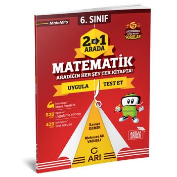 6 Sýnýf Ýkisi Bir Arada Matematik - Arý Yayýncýlýk