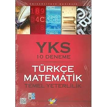 FDD TYT Türkçe Matematik 10 Deneme