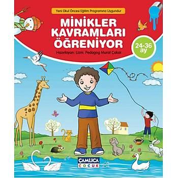 Minikler Kavramlarý Öðreniyor - Murat Çakar - Çamlýca Çocuk Yayýnlarý
