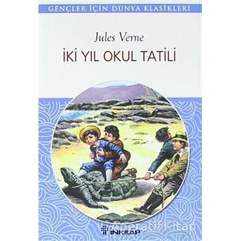 Ýki Yýl Okul Tatili - Jules Verne - Ýnkýlap Kitabevi