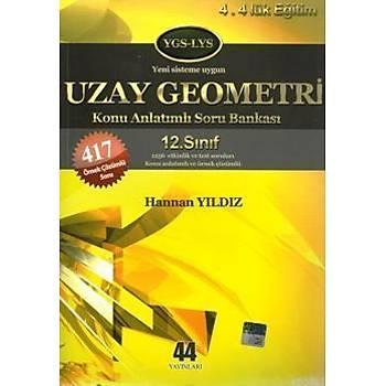 12. Sýnýf Uzay Geometri Konu Anlatýmlý Soru Bankasý