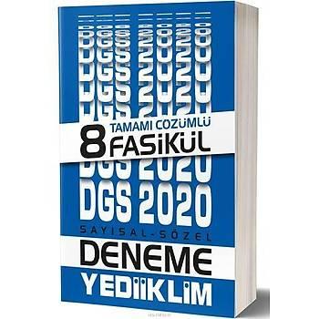 Yediiklim 2020 DGS Çözümlü 8 Fasikül Deneme