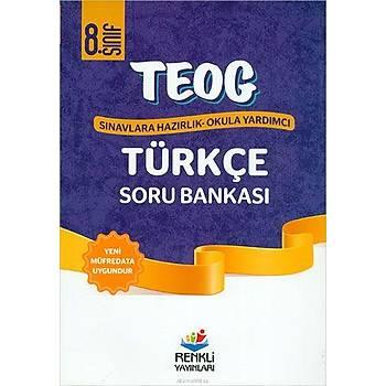 8. Sýnýf TEOG Türkçe Soru Bankasý Renkli Yayýnlarý