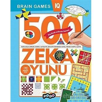 500 Zeka Oyunu - Kolektif - Pogo Çocuk